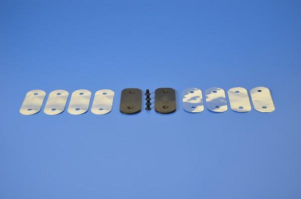 Komplettes Set Messerabstützung für Pressbalken für Maschinentypen 56/66/80