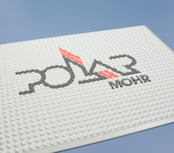 floor mat with Polar Logo